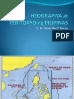 Heograpiya at Teritoryo Ng Pilipinas