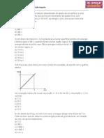 Lista de Exercícios de energia mecanica