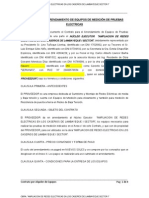 CONTRATO DE ARRENDAMIENTO DE EQUIPOS DE MEDICIÓN DE PRUEBAS ELECTRICAS