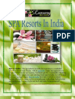 A perfect option for relaxation in the Best Spa Resorts in India