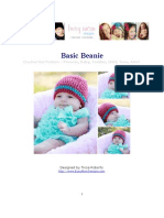 Basic Beanie - ALL SIZES - Easy
