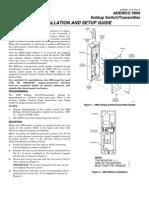 Honeywell 5869 Install Guide