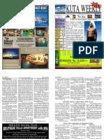 "Kuta Weekly-Edition 287 ""Bali""s Premier Weekly Newspaper"""
