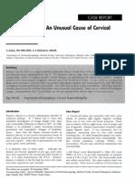 Kimuras_Disease Unusual Cause of Cervical Tumor