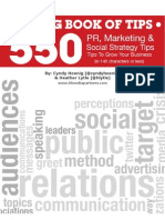 550 PR Marketing Social Media Tips