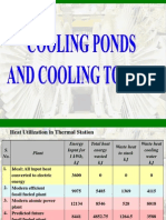 Cooling Ponds and Cooling Towers