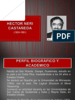 HÉCTOR NERI CASTAÑEDA