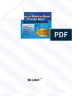 Fischer's BrainX Internal Medicine Board Practice Exams (Q&A Separate) - Copy