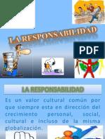 Presentación DE LA RESPONSABILIDAD