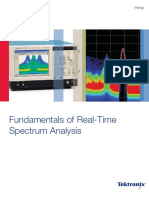 Fundamentals of Real Time Spectrum Analysis