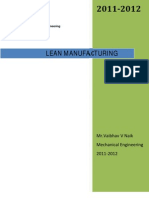 Lean Maufacturing