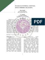 Analisis Pelaksanaan Internal Audit Pada Pt. Indosat (Persero), Tbk Jakarta, Jurnal