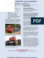 Express Freight Management_2nd Qtr Newsletter June 2011