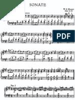 021. Mozart - Piano Sonata No 11 in a Major K. 331