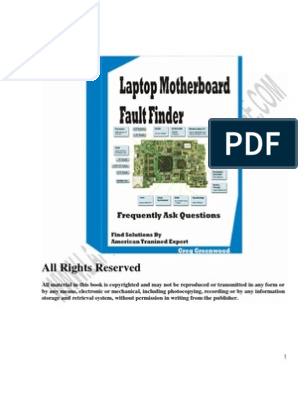Free Lapto Mother Board Fault Finder | Troubleshooting | Laptop