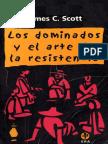 239. Los Dominados y El Arte de La Resist en CIA - James Scott