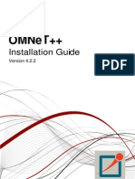 Install Guide for OMNET 4.2.2
