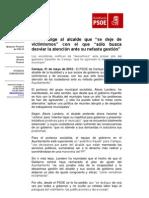 Nota PSOE Cartaya.31-05