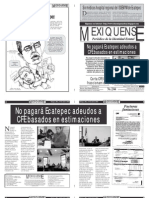 Versión impresa del periódico El mexiquense 1 junio 2012