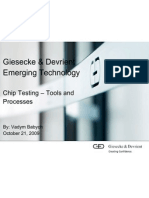 Wired Wednesday - Chip Testing - Tools and Processes