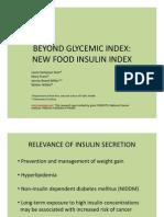 Insuline Index