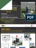 BIMCompetition2012Presentation WH INNO-BIM2