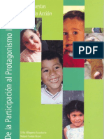 De la Participacion al Protagonismo Infantil