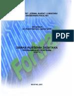 FORTRAN Zbirka Zadataka Rasid Hadzovic DL