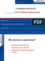 Privacy, compliance and the EU