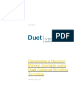Duet Work Flow Pattern