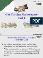 Gas Turbine Maintenance