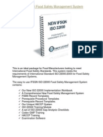 IFSQN ISO 22000 Food Safety Management System Product Information