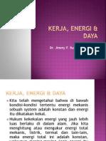 KERJA, ENERGI & DAYA