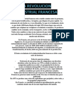 La Revolución Industrial francesa