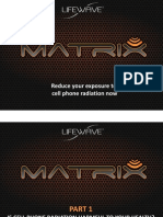 Matrix Cell Phone Radiation Protection Cover Presentation