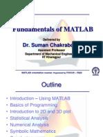 Fundamentals of Matlab Final