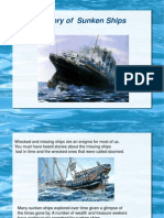 Ppt on Sunken Ships (Copy)