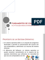 FC Sistema Operativo