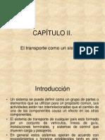 CAP+ìTULO II el transporte como un sistema 2012