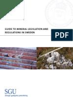 Mineral Legislation 2006