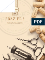 Fraziers Wine Merchants Wine List 2011