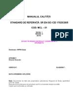 ARPM Galati - Manual Calitate 23.11