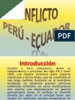 CONFLICTO ECUADOR