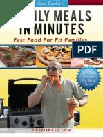 Dad Fitness Cookbook