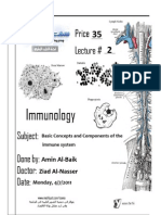 Immunology Lecture #2 (1)