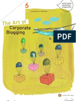 The Art of Corporate Blogging Radian6 eBook