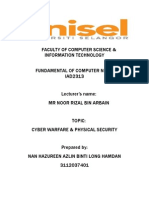 Cyber Warfare and Physical Security