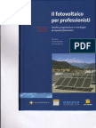 Solare Fotovoltaico - Libro - Il Fotovoltaico Per Profession is Ti