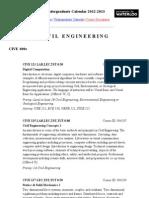 Waterloo - Courses Civil Engineering