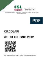 Circolari Del 01 Giugno 2012
